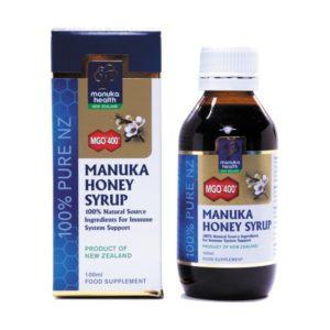 Syrop ziołowo-propolisowy z Miodem Manuka MGO™ 400+