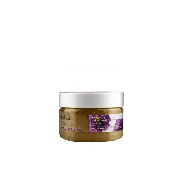 botanic. Czarna róża.regenerujący peeling-masaż do ciała, 180 ml