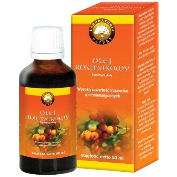 Olejek rokitnikowy - Suplement diety