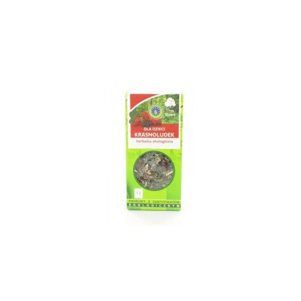 KRASNOLUDEK herbatka eko dla dzieci