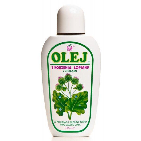 Olej z korzenia łopianu z ziołami 150ml