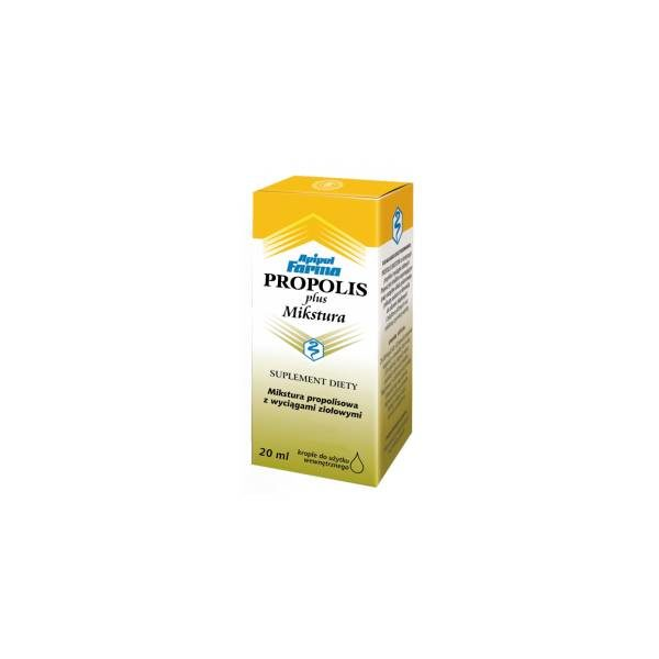 Propolis Plus mikstura krople 20 ml