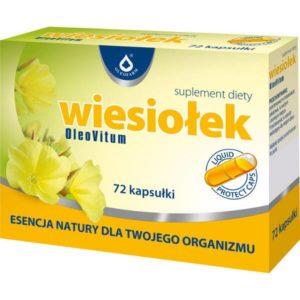 Wiesiołek OleoVitum, 72 kapsułki Liquid Protect Caps.