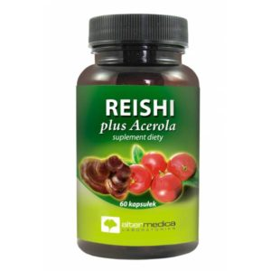REISHI plus Acerola 60 kaps.