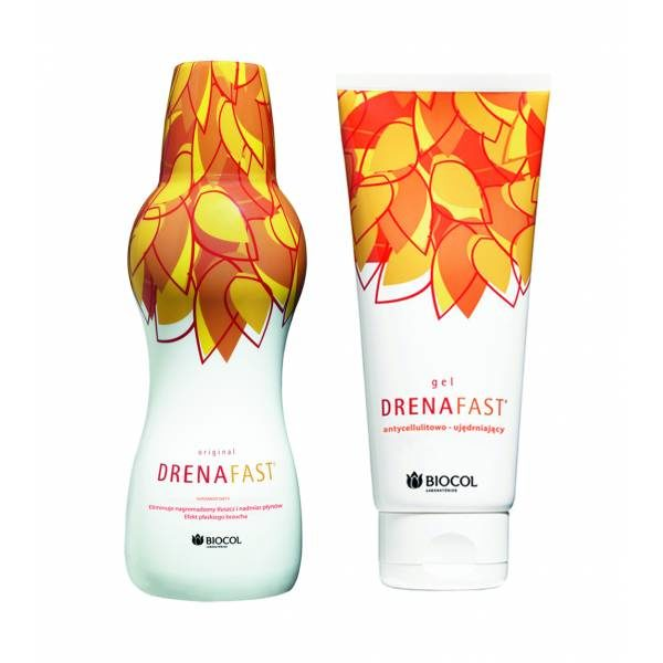 DRENAFAST ORIGINAL 500ML + DRENAFAST GEL 200ML PAKIET