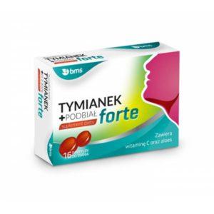 Tymianek + Podbiał 16 tabletek