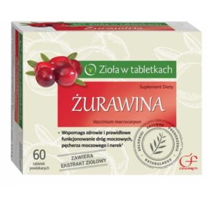 Żurawina suplement diety 60 tabletek