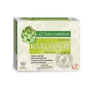 Karczoch suplement diety 60 tabletek