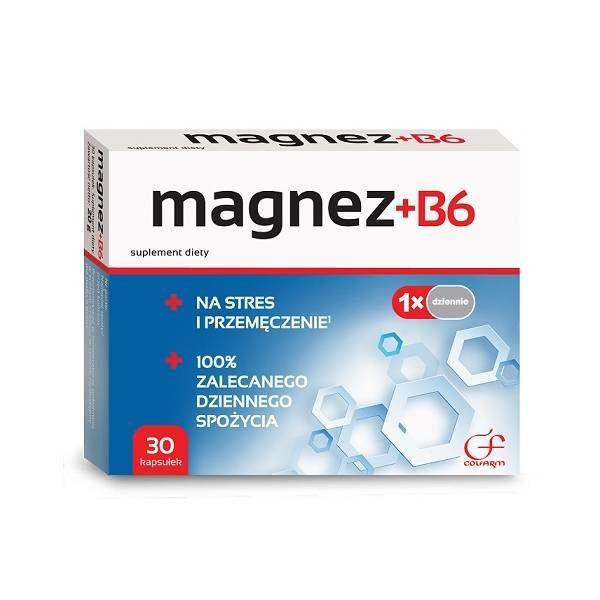 Magnez+B6 30 tabletek