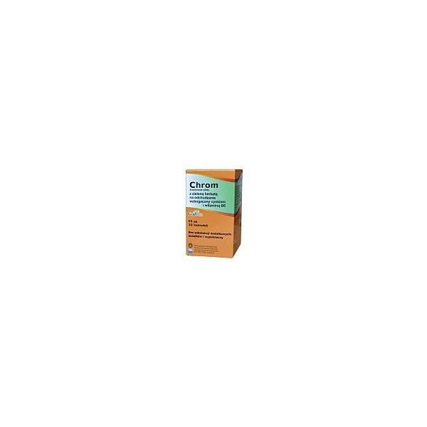 Chrom z zieloną herbatą 30 tabletek