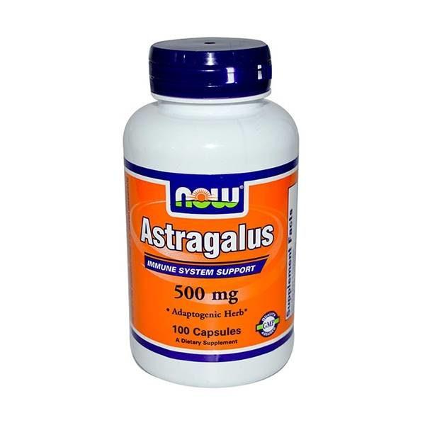 Astragalus 500 mg - 100 kapsułek