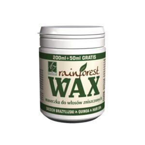 Rainforest Wax® maseczka do włosów zniszczonych