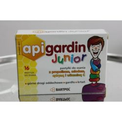 API GARDIN JUNIOR pastylki do ssania