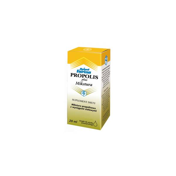 Propolis Plus mikstura krople 20 ml
